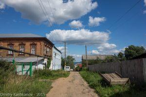 Горбатов. Улица Горбунова. Направление на смотровую площадку