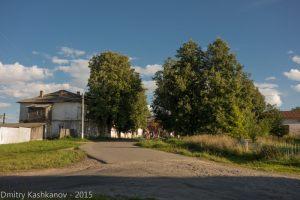 Здесь на улице Советской кончается хороший асфальт. г. Горбатов
