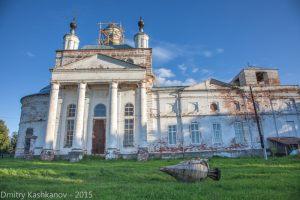 Троицкий собор на реставрации