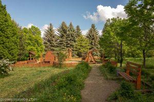 Детская площадка в Дендрологическом саду. Переславль-Залесский