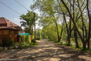 Улица Правая набережная - берег реки Трубеж. Переславль-Залесский