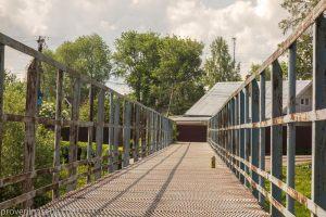 Мост через реку Трубеж в районе улицы 3-й южной. Переславль Залесский
