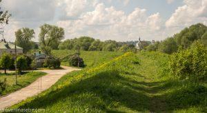 Прогулка по земляному валу. Переславль-Залесский. Фото