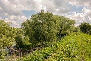 Река Трубеж. Мост. Переславль-Залесский. Фото