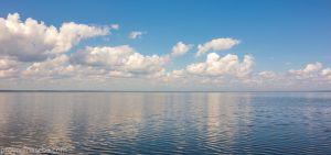 Плещеево озеро. Вид от устья реки Трубеж. Переславль-Залесский