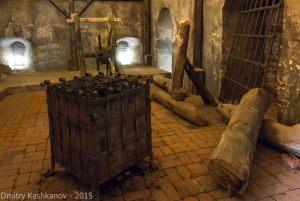 Камера пыток в башне монастыря