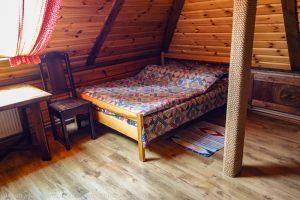 Двухспальная кровать. Верхний номер Гостевого домика Веры Федоровны. Суздаль