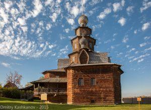Преображенская церковь. Вид с территории