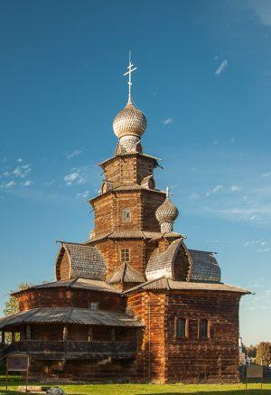 Преображенская церковь. 1756 год.