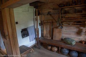 кухня с русской печью