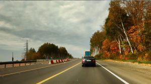 Московское шоссе после города Гороховца