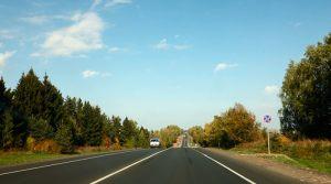 Дорога от Владимира в Суздаль