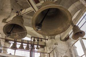 Колокола Преподобенской колокольни. Суздаль