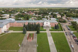 Красная площадь в Суздале. Здание администрации