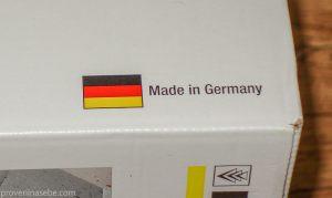 Коробка с пароочистителем Karcher. Сделано в Германии