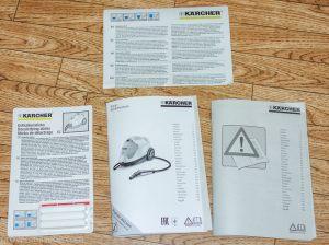 Пароочиститель Karcher SC4. Инструкции и указания по мерам безопасности