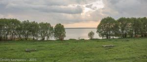 На берегу Плещеева озера. Проход к озеру - 50 рублей
