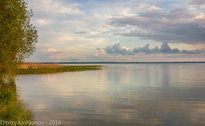 Закат на Плещеевом озере. Переславль Залесский. Фото
