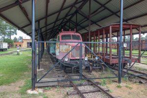 Музей паровозов в Переславле-Залесском. Экспозиция под крышей