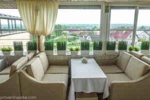Верхний ресторан отеля Виктория Плаза в Переславле-Залесском