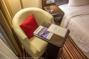 Кресло для чтения. Отель Кортъярд в Нижнем Новгороде