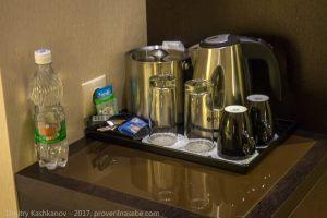 Чай, кофе, сахар. Отель Кортъярд в Нижнем Новгороде