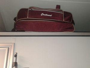 Место для багажа в купе стрижа