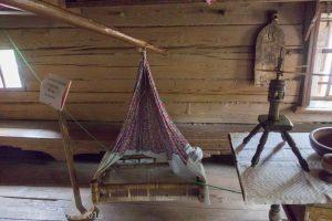 Люлька. Музей деревянного зодчества. Нижний Новгород.