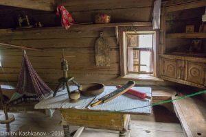 Горница. Музей деревянного зодчества. Нижний Новгород.