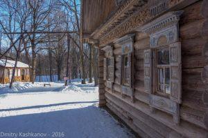 Изба Обуховой. Зима