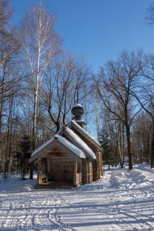 Покровская церковь. Зимнее фото