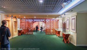 Зал музея Памятного знака. Начало осмотра. Экскурсия из Казани в Болгар