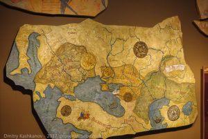 Карты древних народностей. Музей болгарской цивилизации