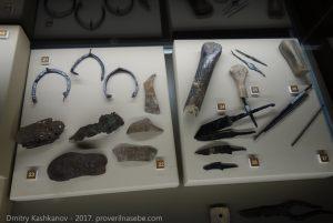 Древние изделия из железа. Музей болгарской цивилизации
