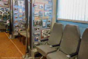 Пассажирские кресла из самолета Ту-154
