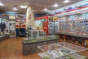 В зале музея истории гражданской авиации