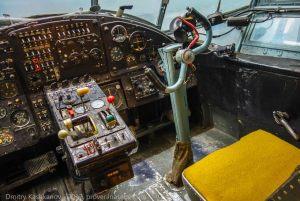 Самолет Ан-2. Кабина пилотов
