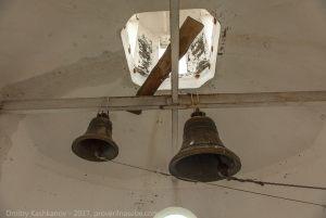 Главные колокола Успенской церкви в Большом Болдино