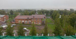 Дом культуры, построенный в 1949 году к 150-летию Пушкина в Большом Болдино