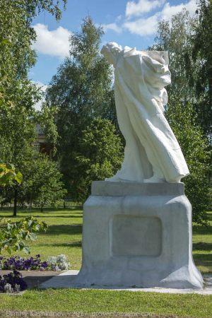 Большое Болдино. Памятник Пушкину