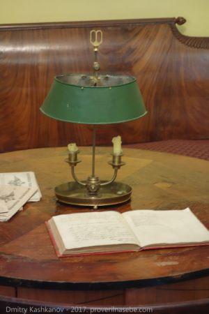 Настольная лампа Пушкина