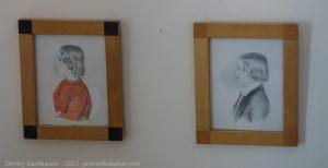 Портреты детей Пушкина