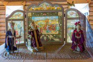 Музей сказок Пушкина. Сказка о золотом петушке