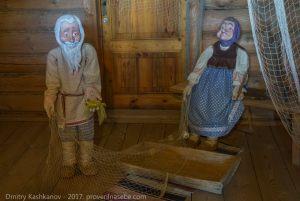 Музей сказок Пушкина. Сказка о рыбаке и рыбке