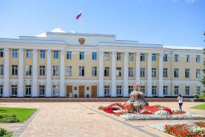 Здание законодательного собрания на территории Нижегородского кремля