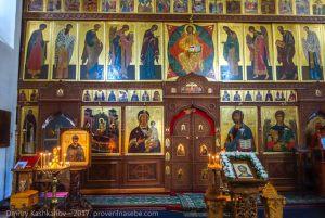 Алтарь в Михайло-Архангельском соборе
