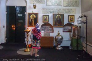 в Михайло-Архангельском соборе