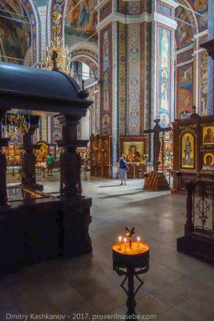 Внутреннее убранство Собора Александра Невского в Нижнем Новгороде. Фото