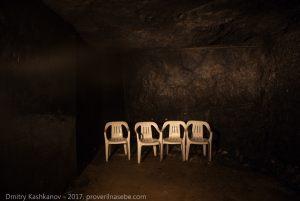 Шунгитовая комната в Музее горного дела в Пешелани