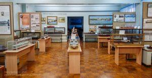 Музей речного флота. Зал пароходов